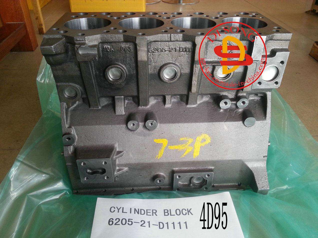 Komatsu Excavator 4D95 Cylinder Block