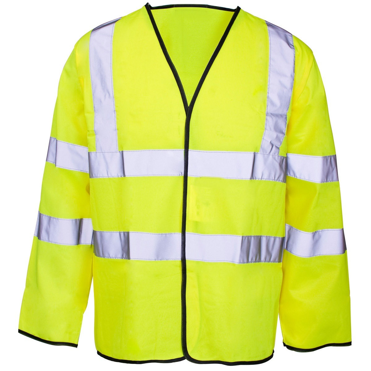 Long Sleeved High Visibility Vest with En20471 (C2505)