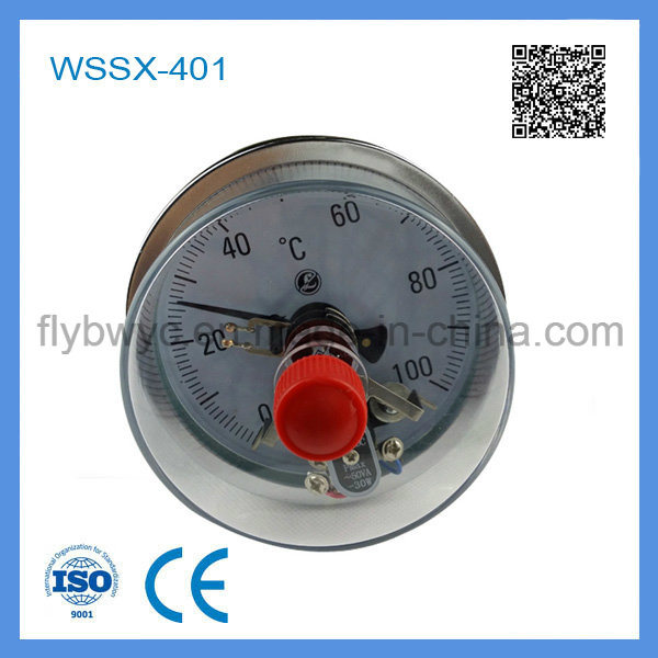 Wssx-401 Electric Contact Bimetal Thermometer