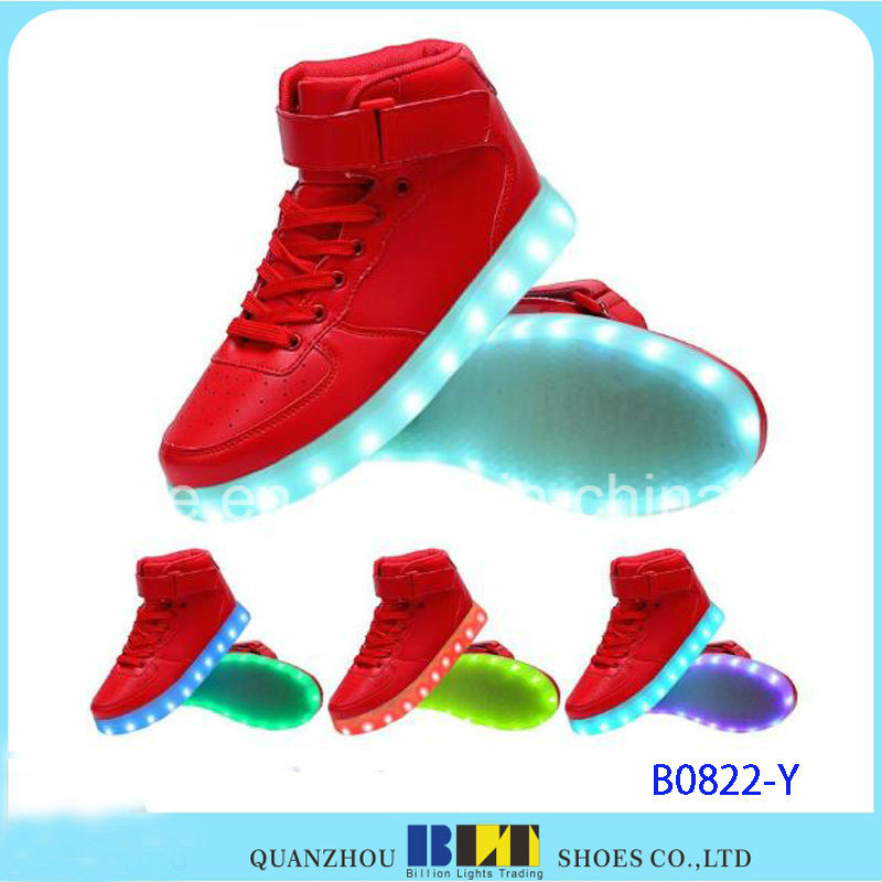 New Style Casual Women&Men Light LED Shoes
