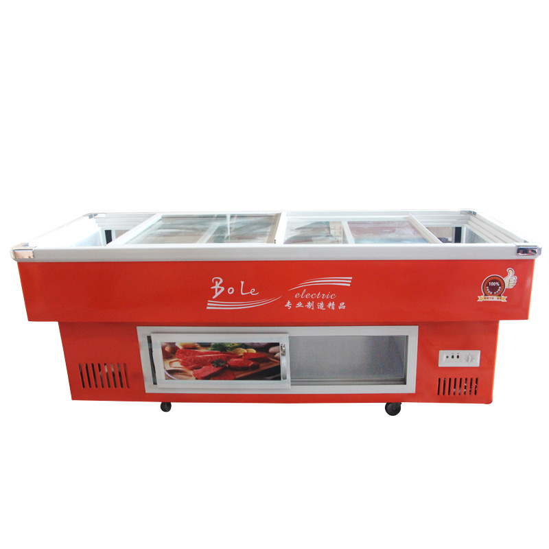 Top Brand Compressor Refrigerated and Frozen Seafood Freezer