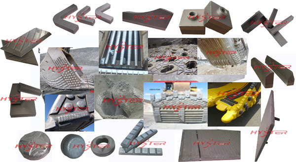 Earthmoving Equipment Wear Parts Wear Castings Bucket Wear Parts