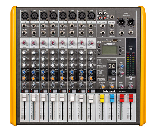 Beautiful Sound 8 Channels for Ms-812 Audio Mixer