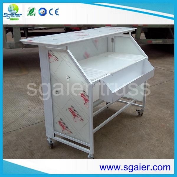 Portable Bar Counter Folding Led Bar Table Acrylic Led Bar Tables