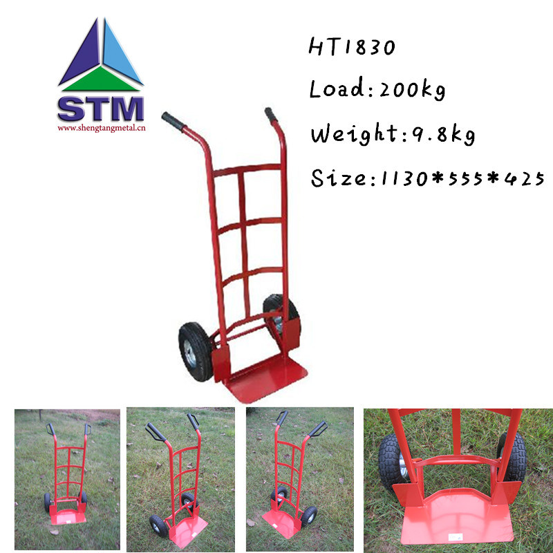 Metal Hand Trolley with High Quality (1830)