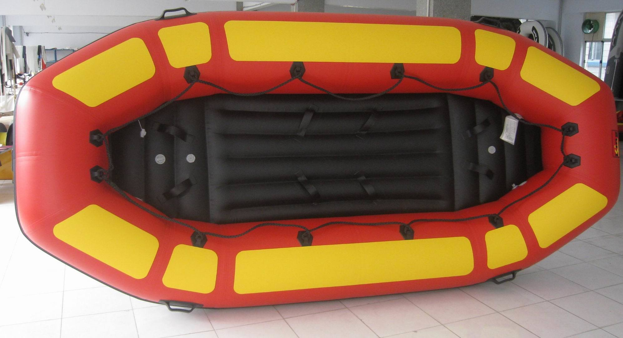 Children Kid Toy PVC Rafting Inflatable Boat with Airpillow