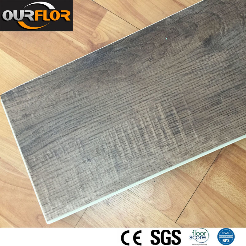 8mm WPC Vinyl Flooring Planks / WPC Flooring Stripes / WPC Vinyl Floor Tiles