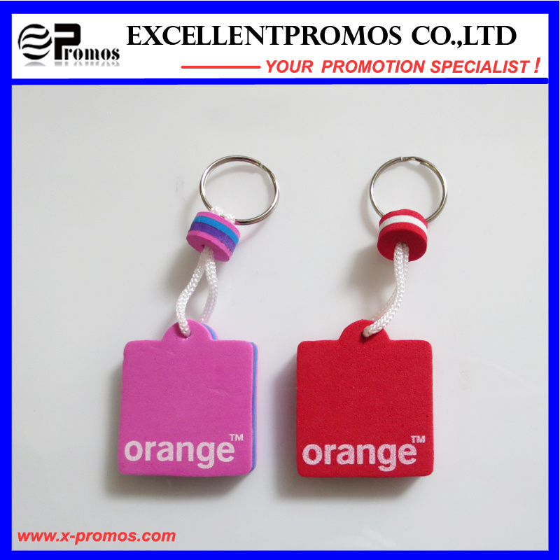 Hot Selling Promotion PU Floater Keychain (EP-S7311)