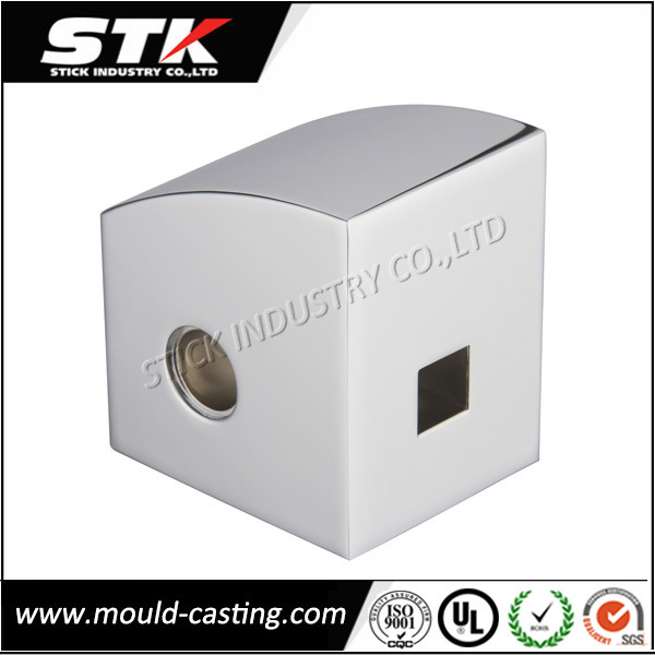 Chrome Plated Zinc Alloy Die Casting for Bathroom Faucet Accessories
