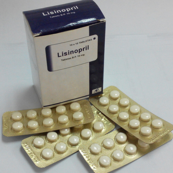 GMP/OEM Medicine Lisinopril Tablets 10mg