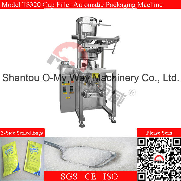 5-200g Sugar Packing Machine Automatic Vertical Packaging Machine