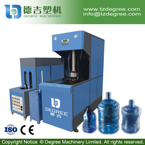 Semi Automatic 20 Liter Pet Bottle Blowing Machine