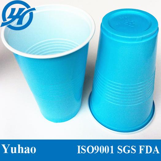 Disposable Custom Printed Clear Milkshake / Smoothie / Juice / Slush Plastic Cup