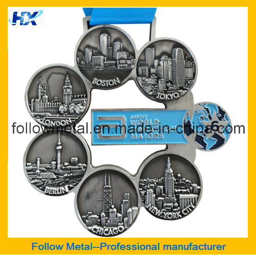 Custom High Quality Zinc Alloy Fashion 21km Half Marathon Medals