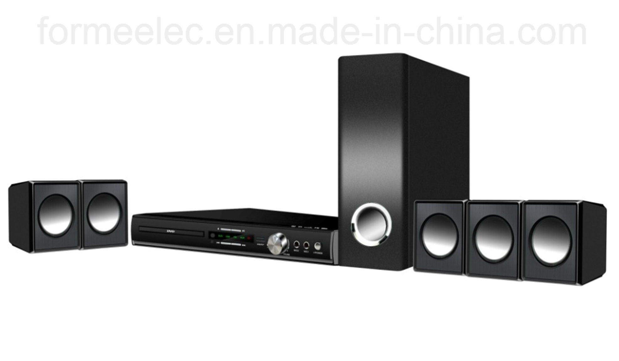 5.1CH Home Theater with DVD Player Subwoofer Home Theatre RMS 105W