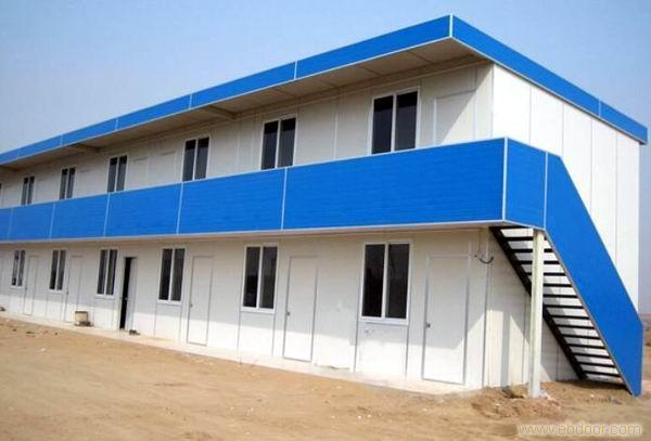 Light-Engineering Prefab Steel Structure House for Sale