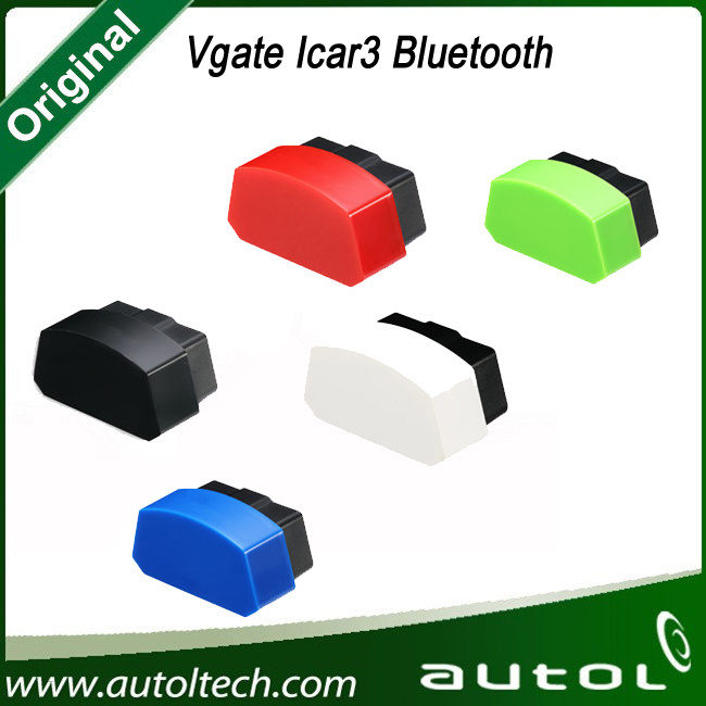 Vgate Icar3 Bluetooth Elm327 Support All Obdii Protocols Cars Icar 3 Code Reader for Android/ Ios/PC