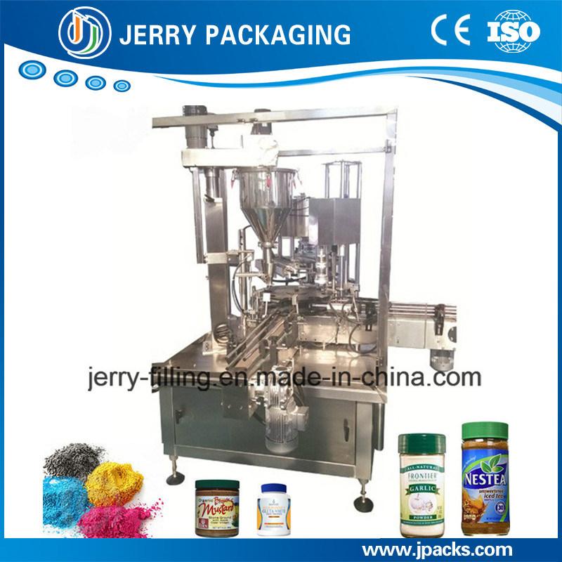 Medicine Powder Bottled Bottle Bottling Filling Capping Machine