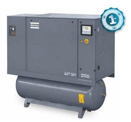 Atlas Copco Oil Injected Screw Air Compressor (GXe7 GXe11 GXe15S)