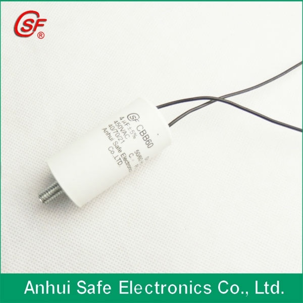 35UF 450V P0/P2 Brass Wires Electric Pump Capacitor Cbb60
