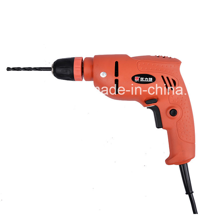 350W Real Power 10mm Professional Electric Drill 9213u