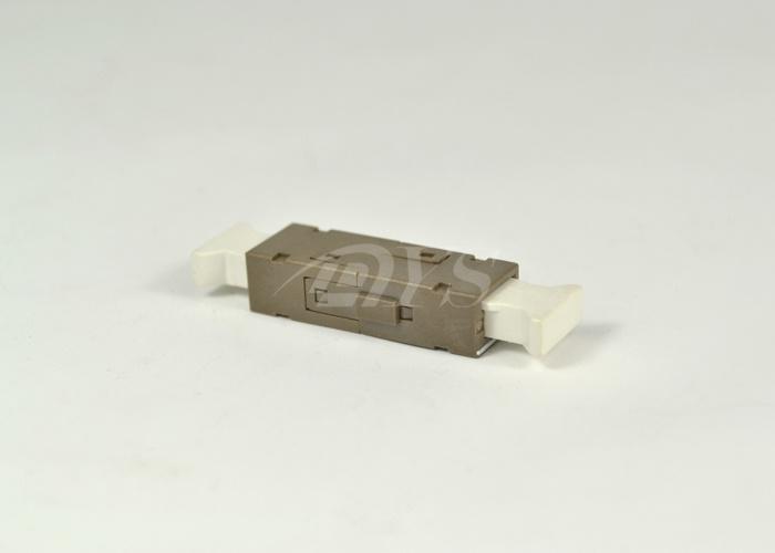 Simplex Mu Fiber Optic Adapter