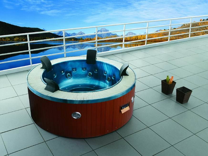 Whirlpool Massage Balboa Panel Acrylic Outdoor SPA (M-3329)