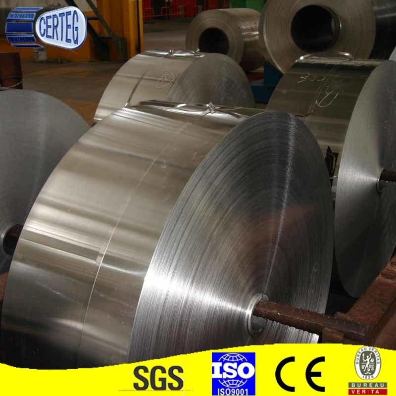 Alu Foil 0.09mmx40mm 8011 O Temper Aluminum Foil Coil