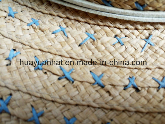 100% Raffia Straw Leisure Style Safari Hats