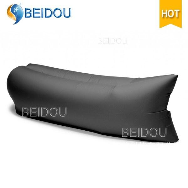 Wholesale Single Mouth Camping Lazy Bag Laybag Sofa Hangout Inflatable Air Banana Sleeping Bags
