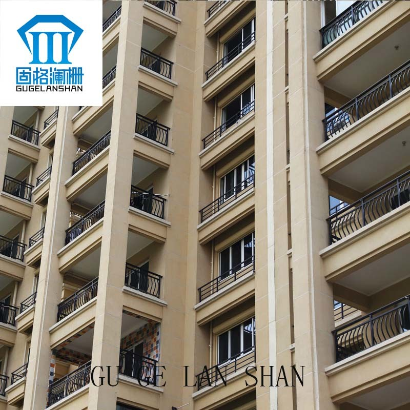 High Quality Wrought Zinc Steel Balcony Guardrail 013