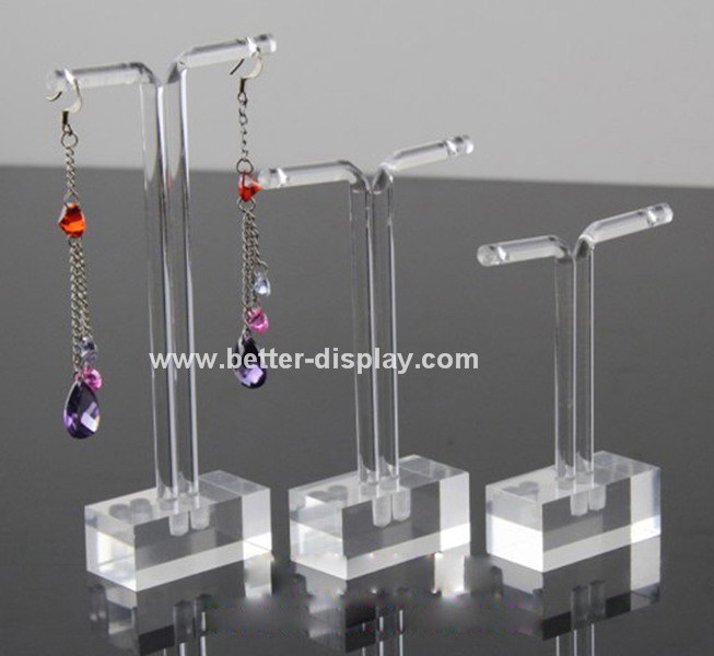 Acrylic Jewelry Display Kiosk for Earrrings