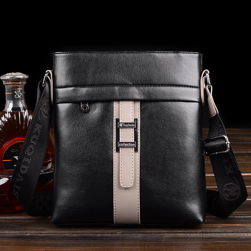 Shoulder Men Leather Briefcase