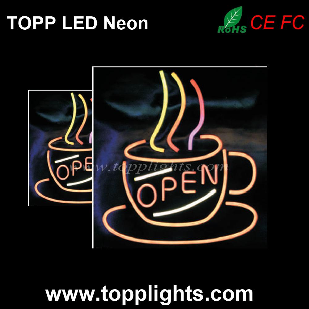 LED Neon Sign DIY 12V LED Neon Flex Rope Light