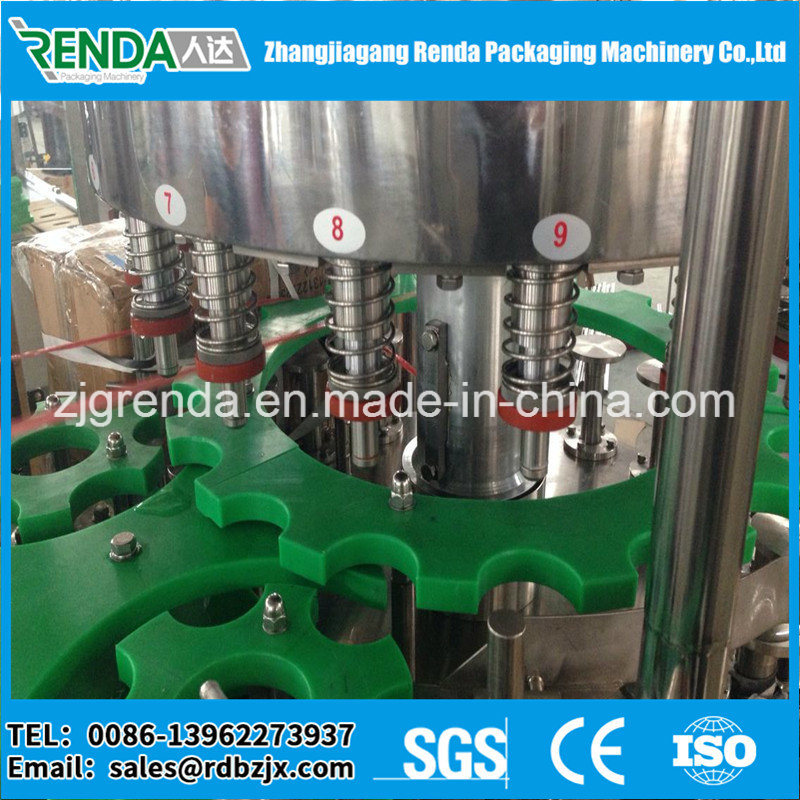 Washing, Filling and Sealing 3 in 1 Monoblock Drink Water Filling Machine for Pet Bottle