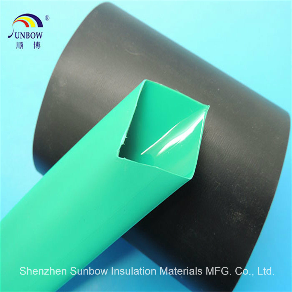 Black 3: 1/4: 1 Heat Shrinkable Tubing Dual Wall Heat Shrink Tube Sleeve