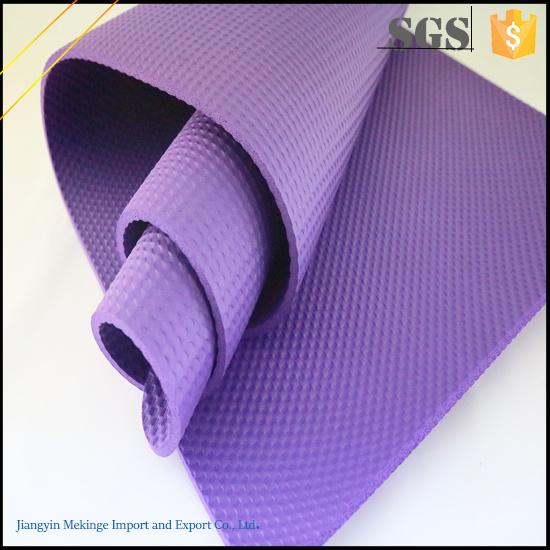 Conveniently Folding NBR Yoga Mat