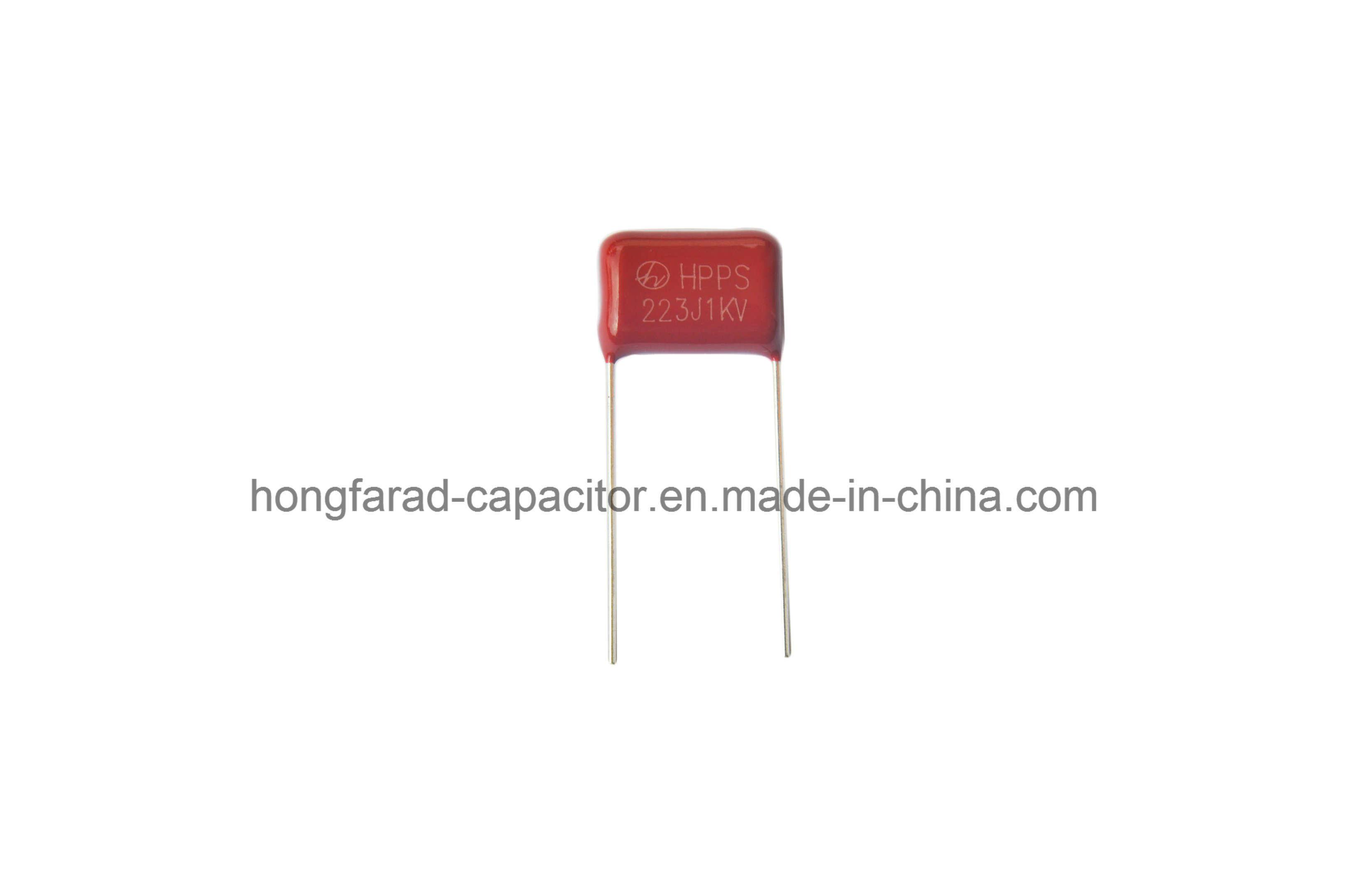 Cbb21 Mpp Metallized Polypropylene Film Capacitor for PCBA