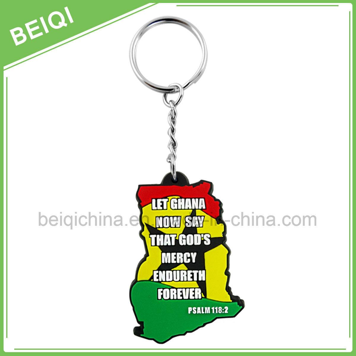 Fashion Custom Rubber Promotional Key Chain /Key Holder