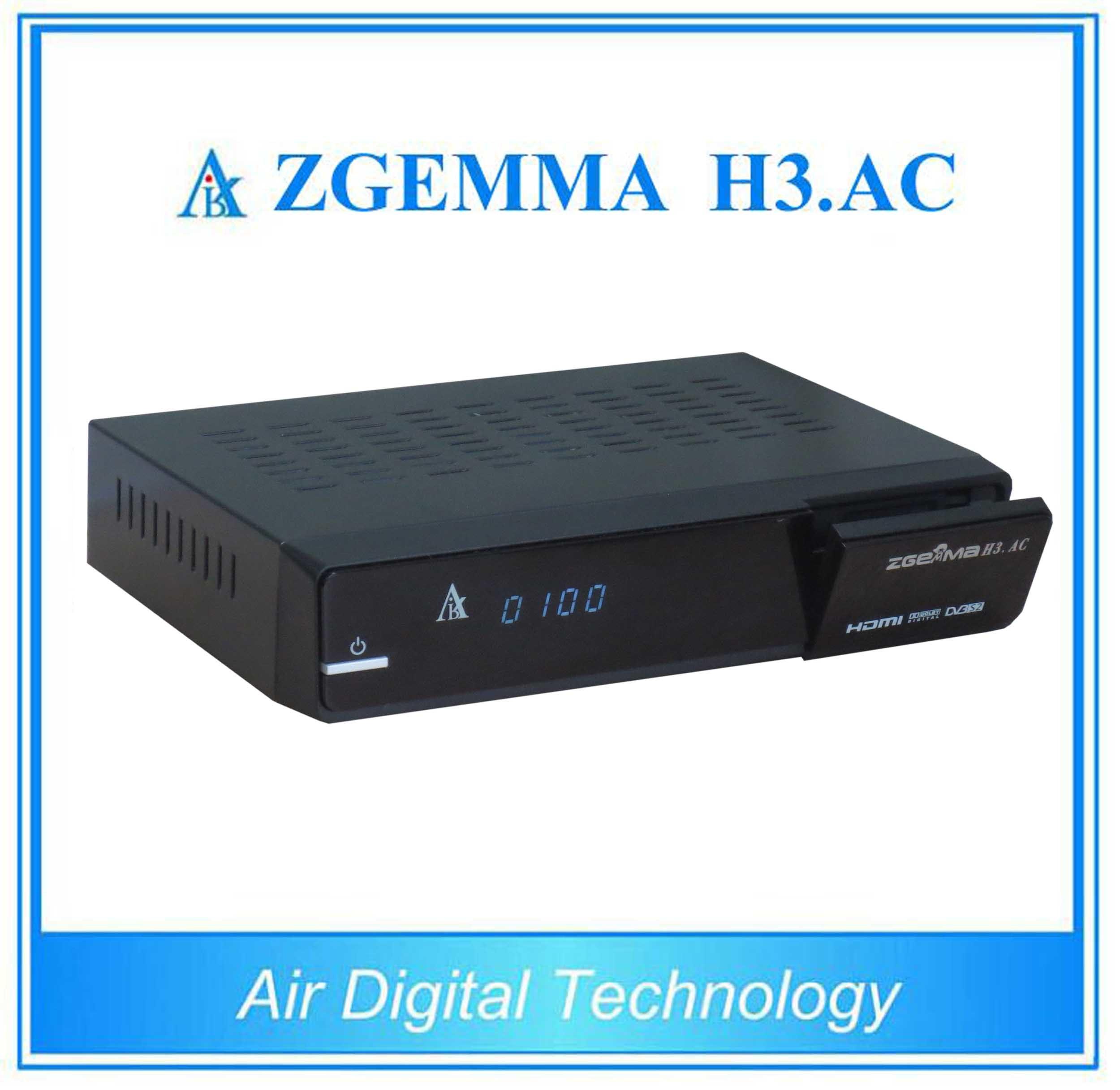 Mexico ATSC and DVB S/S2 Zgemma H3. AC New Product