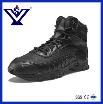 New Arrival Skid Resistance Tactical Military Combat Boots (SYSG-114)