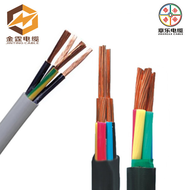 PVC Insulation PVC Sheath Fleixble Wires, Cu Electrical Cable