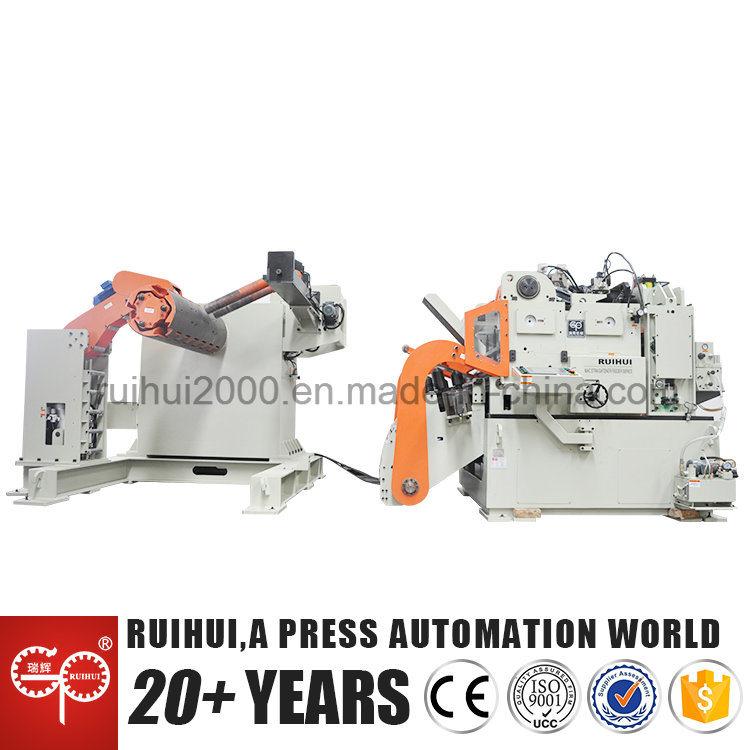 Automatic Machine Straightener Feeder with Nc Servo Feeder Use in Hardware Manufacturers