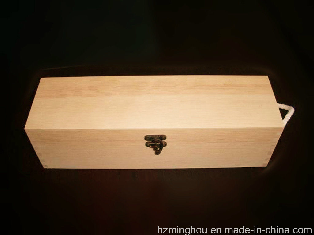Customized Packaging Wooden Box for Wine Storage Gift Box