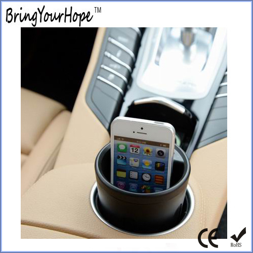 Cup Holder Car USB Charger (XH-UC-023S)
