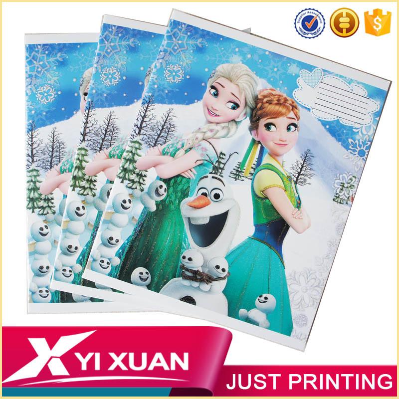 Wholesale Custom Print Cheap School Student Paper Note Book