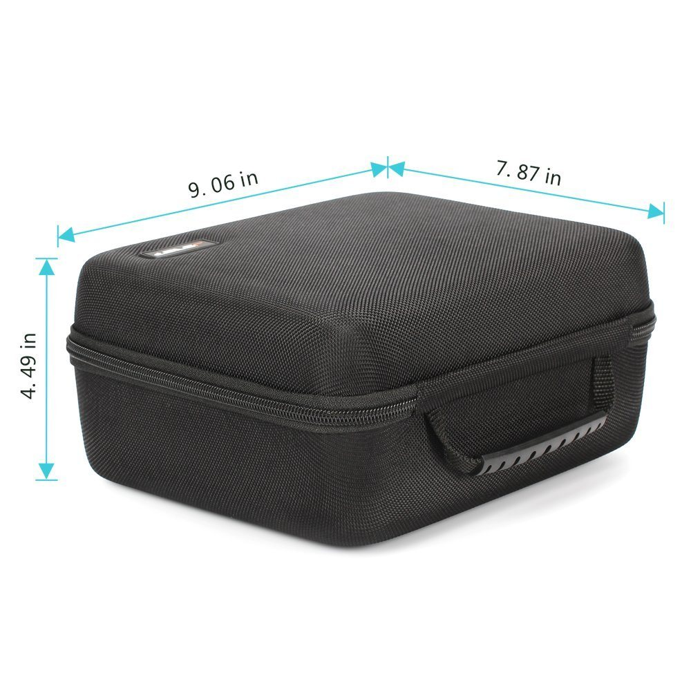 Traveling First Aid Kit EVA Hard Case Cell Phone Case/EVA Travel Storage Carrying Bag for Samsung Gear Vr Virtual Reality Headset Gamepad Game Controller Kit