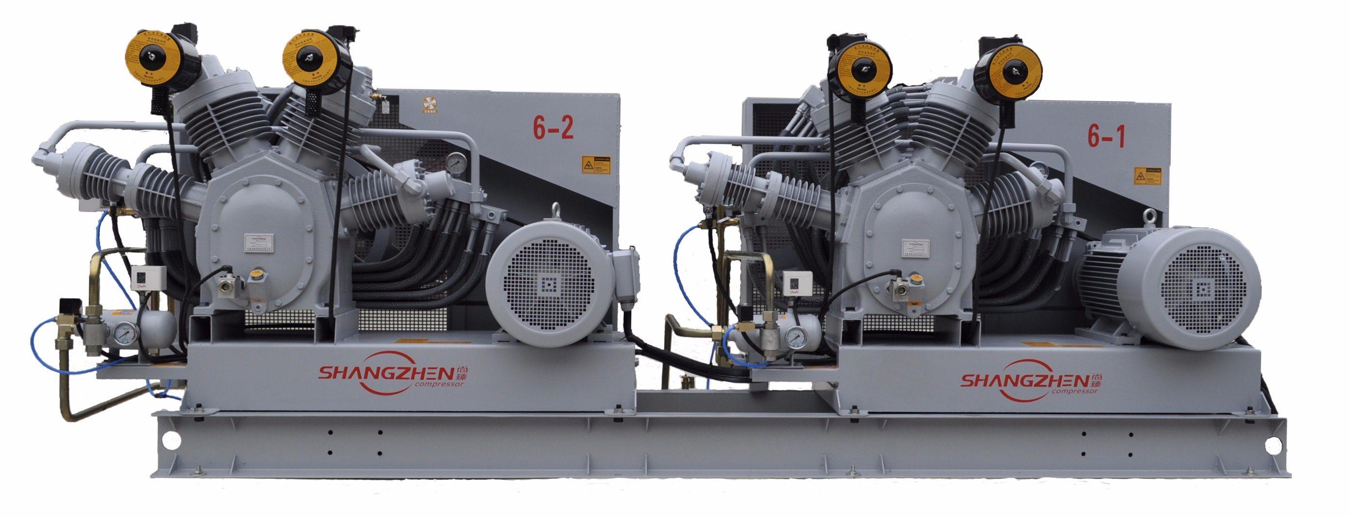 (2-SH-4.0/30) 30bar 35bar 40bar Pet Bottle-Blowing Dedicated Air Compressor Medium High Pressure Air Compressor