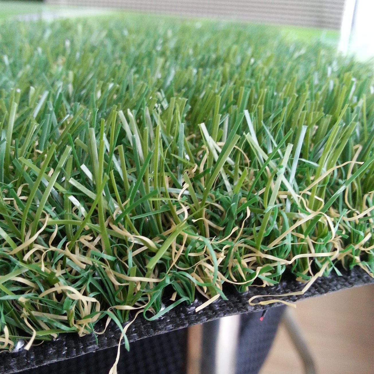 4 Colours 32mm High Density Dark Green Synthetic Turf Artificial Grass