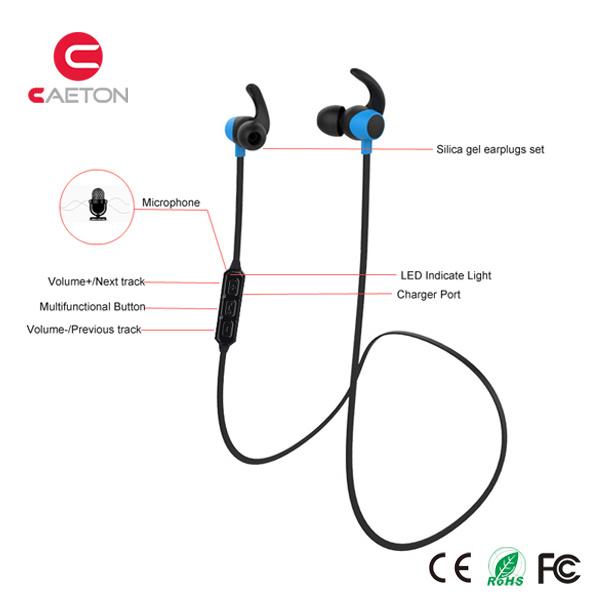 OEM in Ear Headphone Bluetooth Stereo Earphone Wireless Earbuds